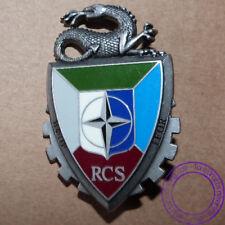 Insigne RCS Régiment Commandement Soutien IFOR OPEX Salamandre 1 Delsart G4365