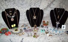 Vintage & Modern Garden Party Costume Jewelry Lot - Sarah Coventry