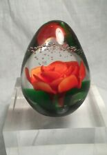 Art Glass Paperweight, The New Zealand Collection Limited Edition Label attached