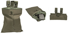 AIRSOFT BELT DUMP OD EMPTY SHELL POUCH MILTEC MIL-TEC 16156001 OLIVE