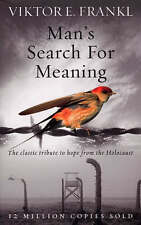 NEW Man's Search For Meaning By Viktor E Frankl Paperback Free Shipping