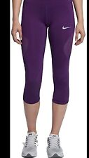 Nike Epic Lux NWT Womens Purple Capri Size Small