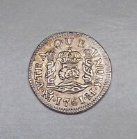 1761 Mexico 1/2 Real, KM-68.