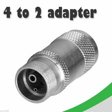 Dental 4 holes to 2 holes Handpiece  Changer Adapter Coupler Motor new Rm-de