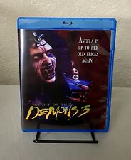 Night of the Demons 3 (Blu-ray Disc, 1997) MOD VHS Artwork *PLEASE READ*