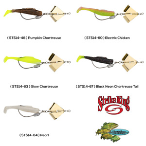 Strike King Saltwater Topwater Buzzbait Spot Tail Special 1/4oz Any Color STS14