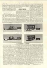 1914 Joseph Williamson Silla De Ferrocarril dispositivo de bloqueo OSRAM Lámpara Funciona