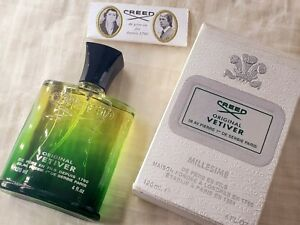 Original Vetiver Creed (2004 First Edition) Unisex EDT Spray 120 ml Vintage Used