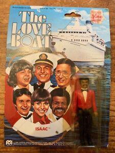 The Love Boat 1981 Isaac Washington Action Figure: Mego Corp on Original Card
