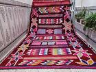 Handmade Moroccan Azilal Vintage Wool Rug Berber Tribal Carpet 6.23 x 10.59 ft