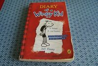 Diary of a Wimpy Kid - collection of 4 books Hardback and Paperback Jeff Kinney
