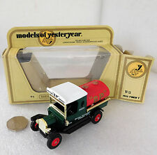 BP petrol tanker Matchbox model delivery truck vehicle 1912 Ford Model T toy