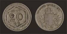 20 CENTESIMI 1919 ESAGONO LISCIO - VITTORIO EMANUELE III