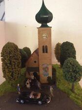 H0 1:87 Faller Dorfkirche  Diorama Modelleisenbahn
