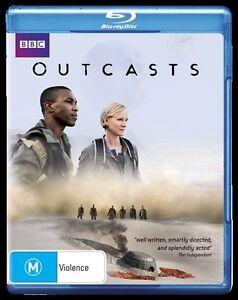 Outcasts (Blu-ray, 2011, 3-Disc Set)*Terrific Condition*BBC Sci Fi