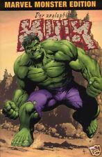 Marvel MONSTER EDITION # 9 HULK + top! +