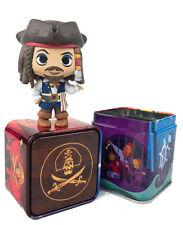 FUNKO Disney JACK SPARROW MYSTERY MINI and tin Treasures Pirates Cove Exclusive