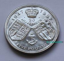 1947-1997 £5 Coin 50th Queen GOLDEN WEDDING ANNIVERSARY UNCIRCULATED Five Pound