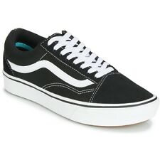 Vans Old Skool Skateboard Classic Black White ComfyCush