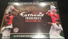 Fathead 2015 MLB Baseball TRADEABLES COLLECTORS SET 50 PLAYERS Brand New 5x7""