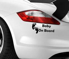 New Baby on Board Car Sticker Cool Art Van 4X4 Caravan Window JDM Decals Vinyl