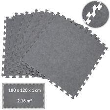 B-Ware Schaumstoff Teppichfliesen grau