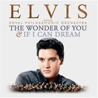 ELVIS PRESLEY The Wonder Of You & If I Can Dream 2CD NEW Royal Philharmonic