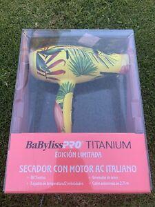 Babyliss NIB Pro Titanium Limited Edition Blow Dryer