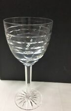 "TIPPERARY ""PORTLAND"" GOBLET 7 7/8"" CUT CRYSTAL NEW MADE IN IRELAND"