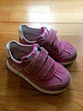 New Balance Sneaker Größe 23 Kinderschuh mit Klett Farbe Pink sehr gut