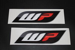 WP Suspension Aufkleber Sticker Decal Federung KTM Decal Bapperl Kleber Logo 1n