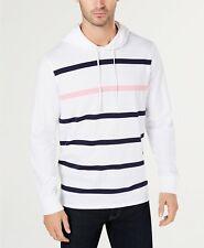 $104 Club Room Men'S White Long-Sleeve Pullover Sweater Sweatshirt Hoodie Top Xl
