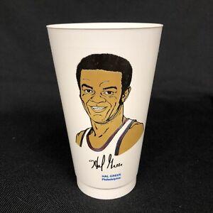 70's Vintage Hal Greer Philadelphia 76ers 7-11 Slurpee NBA Cup In EUC