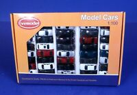 Box Lot of 40 HO Scale Model Cars / Evemodel