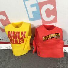 "WWE Wrestling Mattel Elite Hulk Hogan Red Hulkamania Shirt 6"" Figure Accessory"