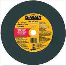 """Dewalt DW8004 12""""X7/64""""X1""""  CHOP SAW WHEEL - GENERAL PURPOSE METAL CUTTING"""