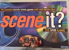Scene it? SEALED Original 2003 Movie Trivia Family Board Game Mattel with DVD