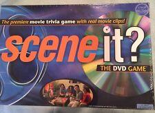 Scene it? SEALED Original 2003 Movie Trivia Family Board Game Mattel with DVD