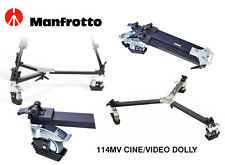 Carrello cine/video per treppiedi con doppio puntale Manfrotto SKU 114MV
