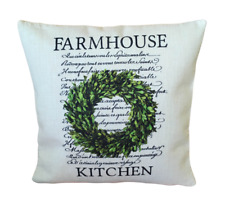 Farmhouse kitchen cushion cover 40 cm ~ Rustic/French country/botanical/gift