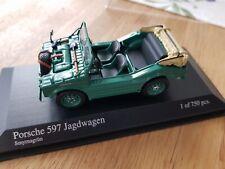 MINICHAMPS 400065302 PORSCHE 597 JAGDWAGEN GREEN 1954 - MINTBOXED
