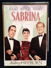 SABRINA : THE AUDREY HEPBURN COLLECTION 2001 DVD NEW SEALED BOGART HOLDEN 1954