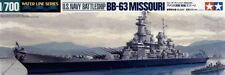 Tamiya 1/700 USS MISSOURI US NAVY Cuirassé # 31613