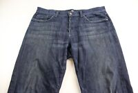 7 For All Mankind Relax Denim Jeans Pants 34 x 33