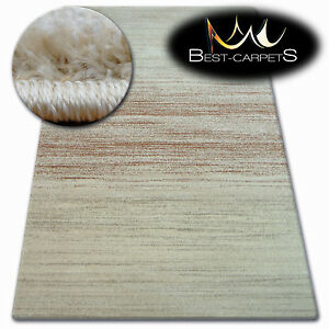 Thick Quality 20mm Modern Design Densely Rugs SHADOW beige 8622 Large Small Size