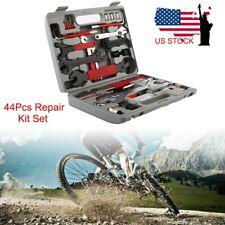 44Pcs Multi-Function Bicycle Bike Repair Kit Set Home Mechanic Complete Tool