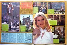 KAREN CHERYL => COUPURE DE PRESSE 2 PAGES 1977 + FLETWOOD MAC / FRENCH CLIPPING