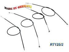 MZ/MUZ Lot de câbles sous Gaine RT125/2 plein noir complet (de 4 pièces) - MOTO