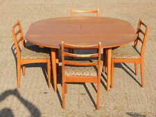 Teak Table & Chair Sets with Extending and 5 Pieces