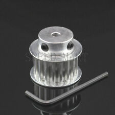 5M HTD5M Aluminum Timing Belt Pulley 18 Teeth 8mm Bore 16mm width Stepper Motor